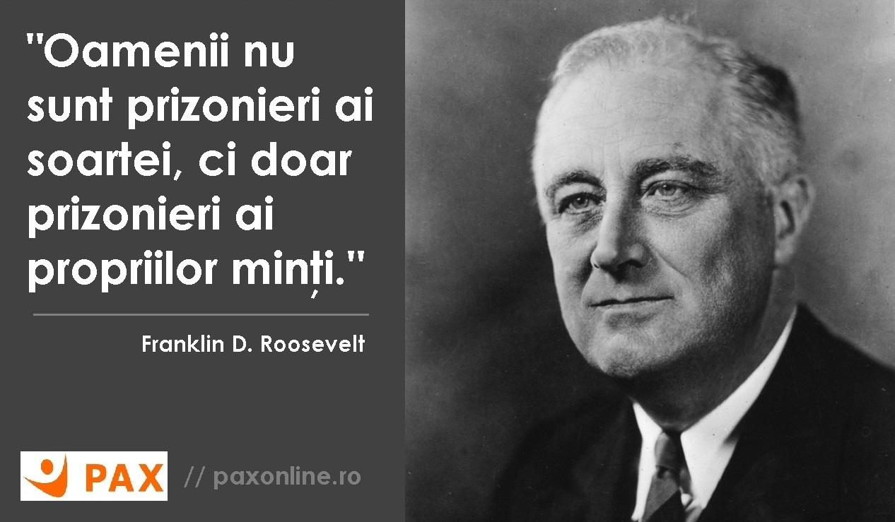 Citat F.D. Roosevelt