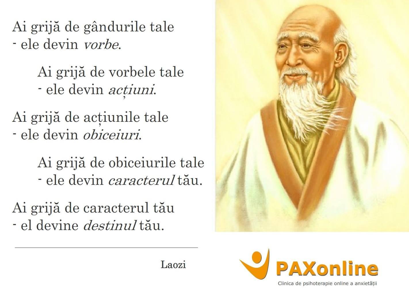 Citat Pax Laozi autoreflectie