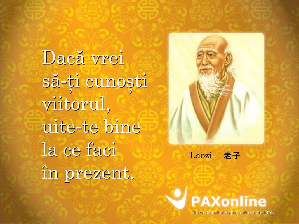 Citat Pax Laozi  directie viitor