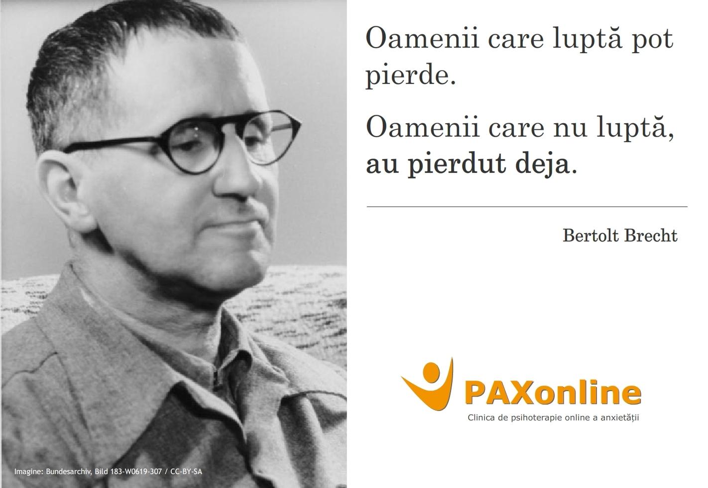 Citat Bertolt Brecht
