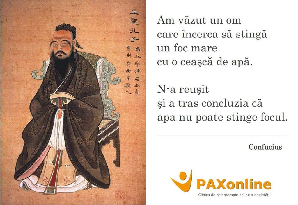 Citat PAX Confucius perseverenta