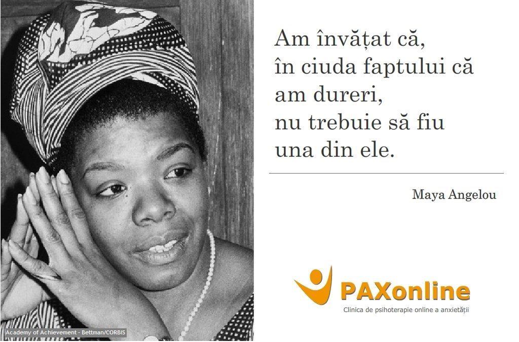 Citat PAX Maya Angelou