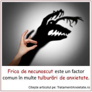 Hipersensibiitatea la amenințarea impredictibilă: factor comun în tulburările de anxietate